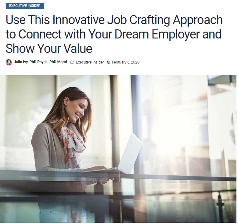 Innovative Job Crafting Approach