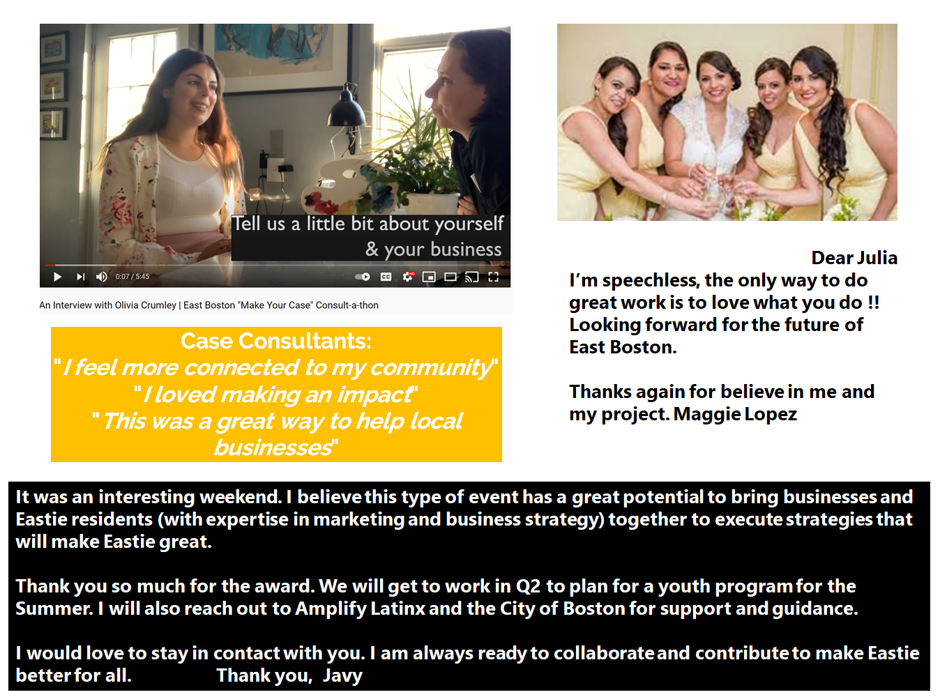 testimonials about consult-a-thon